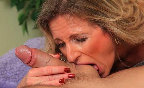 Ball Suck Milf Porn