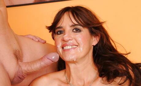 Facial Milf Porn